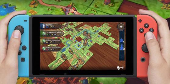 Test Carcassonne sur Switch