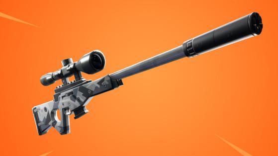 Fortnite : sniper à silencieux, nouvelle arme