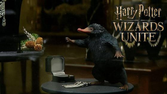 Harry Potter Wizards Unite : nouveau teasing avec un Niffleur