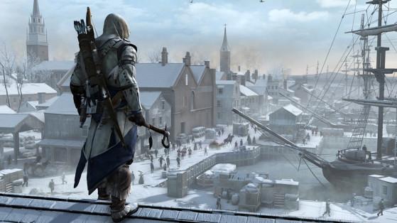 Comment Connor arrive à rester debout sur ces toits verglacés ? - Top Jeux