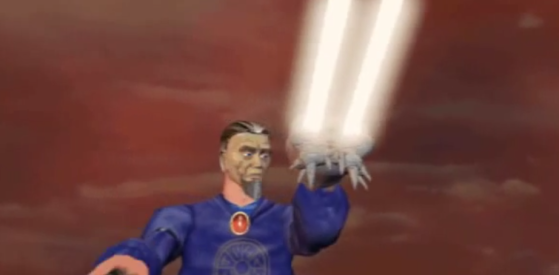 Khadgar utilise le crâne de Gul'dan pour refermer la Porte des Ténèbres (cinématique de fin de Warcraft II: Beyond the Dark Portal) - World of Warcraft