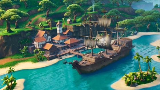 Fortnite : Lazy Lagoon nouvelle zone, saison 8
