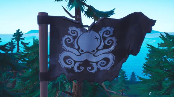 Fortnite : visiter tous les camps de pirates, emplacements, défi semaine 1