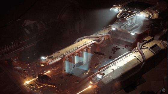 Le Vulture est un des rares vaisseaux de Drake qui ne sont fait pour le combats - Star Citizen