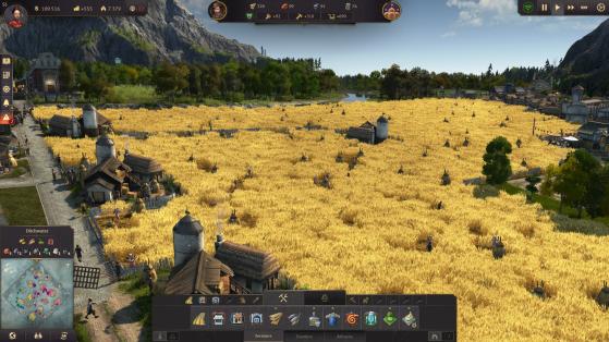 Il y a quelque chose de satisfaisant dans l'agencement des champs de céréales. - Top Jeux