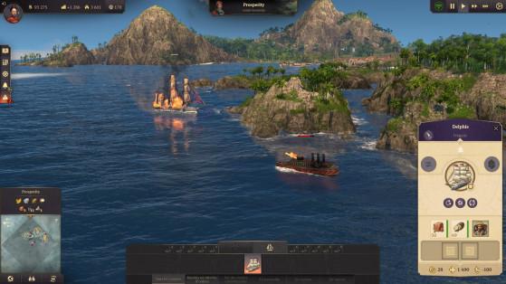 La bagarre en mer est loin d'être au centre du jeu mais sera inévitable par moment. - Top Jeux