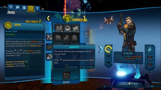 Zane l'opérateur est le seul héros à pouvoir posséder deux compétences - Borderlands 3