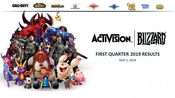 Les résultats du 1er quarter 2019 de Activision Blizzard