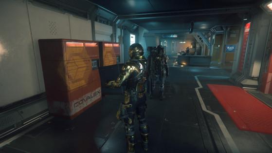 Star Citizen : les missions de récupération d'un colis volé