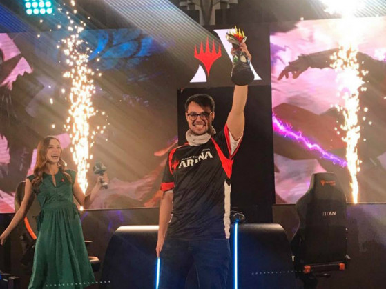 Andrea Mengucci, membre MPL et gagnant du Mythic Invitational - Magic Arena
