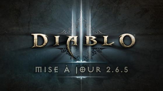Diablo 3 : Patch 2.6.5 déployé, Mise à jour 2.6.5, Patch notes 2.6.5