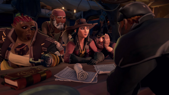 Guide Sea of Thieves : Shores of Gold, position des journaux