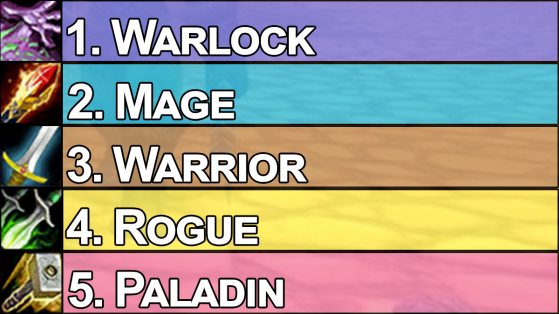 World of Warcraft Classic : Tier list des classes