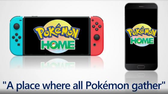 Pokemon Home, pokémon banque, transfert, échange