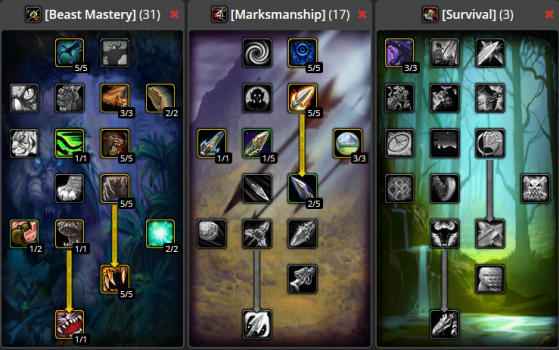 Build PvE 31/17/3 - WoW : Classic