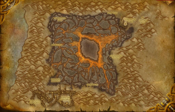Silithus - WoW : Classic