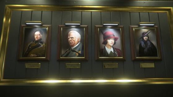 De gauche a droite: Arial, Aberdeen, Ita et Magda Hurston - Star Citizen