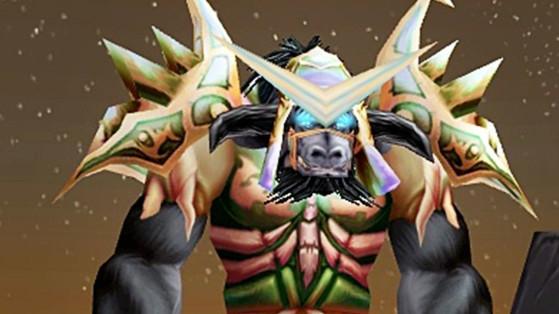 WoW Classic : Set d'armure T2,5 du Druide (Grande tenue de la genèse)