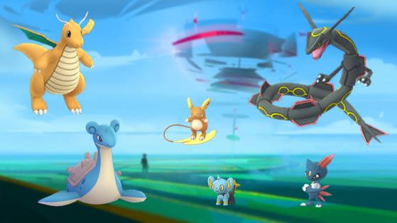 Pokemon GO : changement Boss de Raids, août 2019