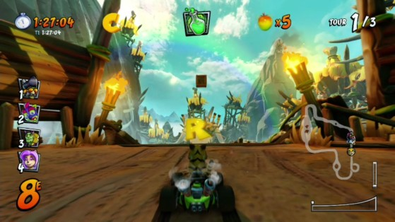 Pour une fois que partir dans le décors est bénéfique ! - Crash Team Racing Nitro Fueled