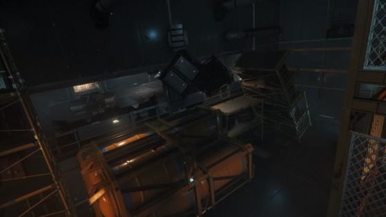 La station comme les familles, détruites par l'accident - Star Citizen