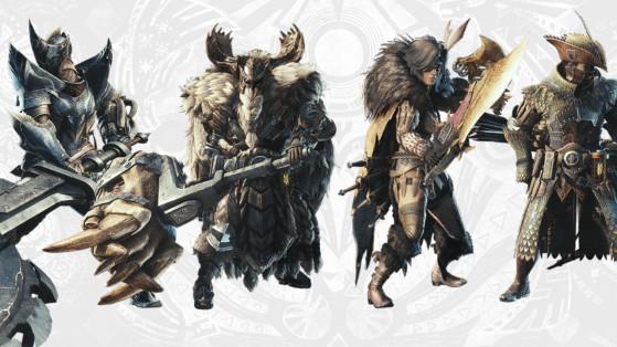 Monster Hunter World Iceborne : sets d'armures, équipement, armor