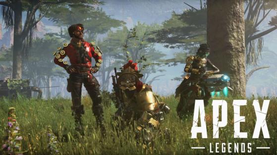 Apex Legends : nouveaux skins, Couronne de fer, armes