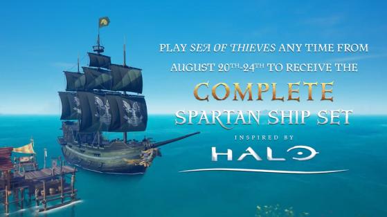 Sea of Thieves : skins exclusifs E3 Halo