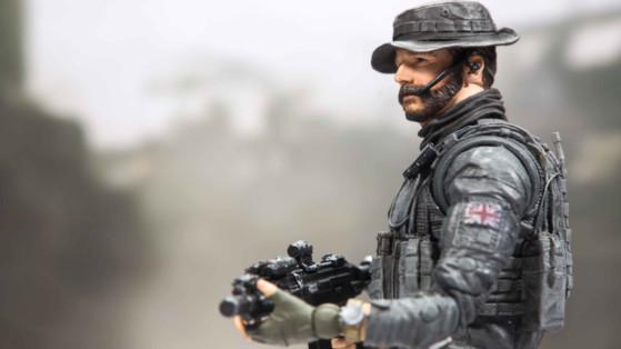 Call of Duty Modern Warfare : figurine Capitaine John Price en précommande