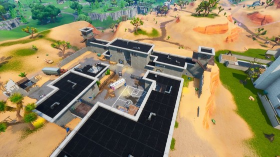 Fortnite : la Prison de retour à Moisty palms