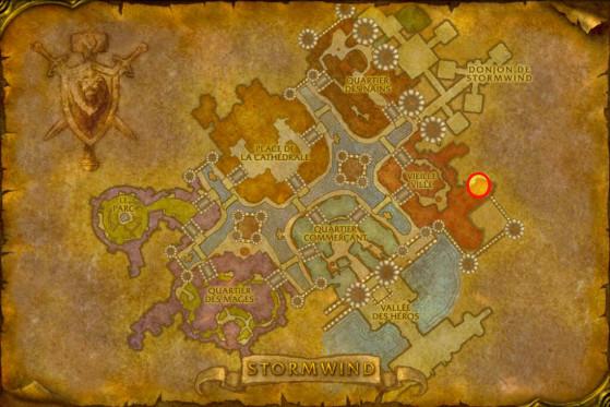 Localisation de Wu Shen - WoW : Classic