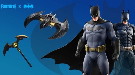Fortnite : skin Batman, pack et cosmétiques