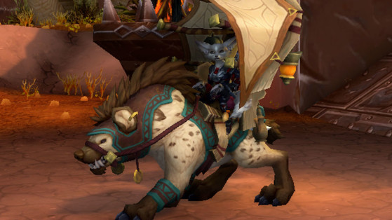 WoW : Montures du Patch 8.3