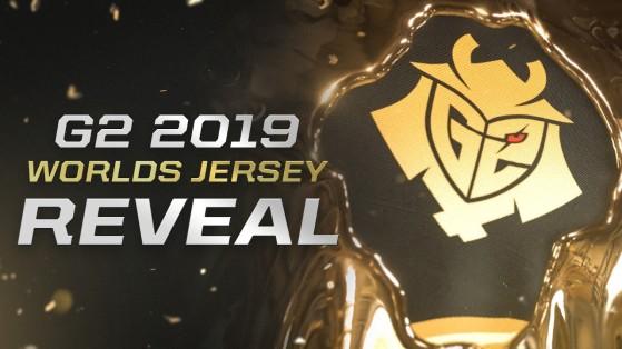 Worlds LoL 2019 : Découvrez les maillots de Fnatic et G2 Esports