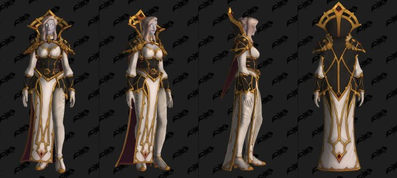 Modèle de Calia Menethil - World of Warcraft