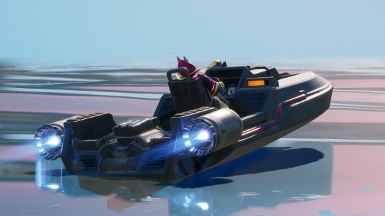 Fortnite Chapitre 2 : le canot-motorisé, nouveau véhicule