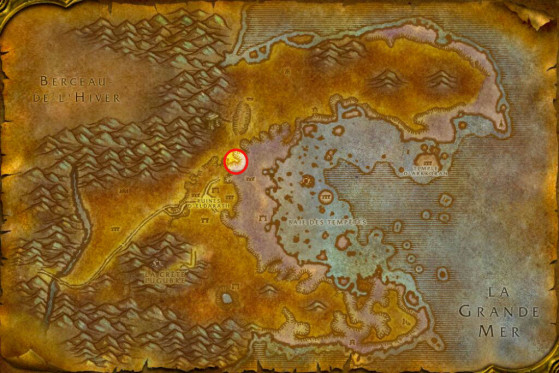 Localisation d'Ogtinc à Azshara - WoW : Classic