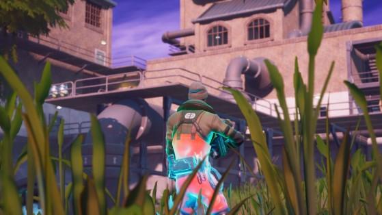 Fortnite : Trouver la lettre R cachée sur l'écran de chargement Soif de bleuvage, défi chapitre 2