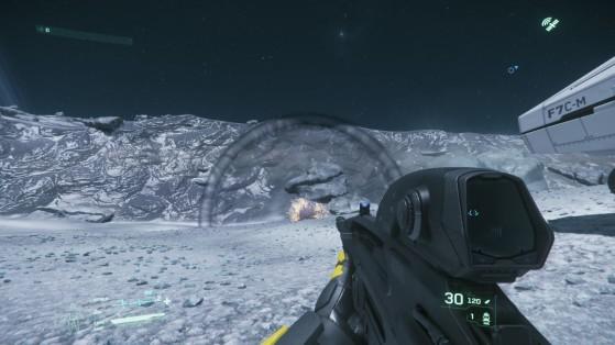 Explosion d'une grenade - Star Citizen