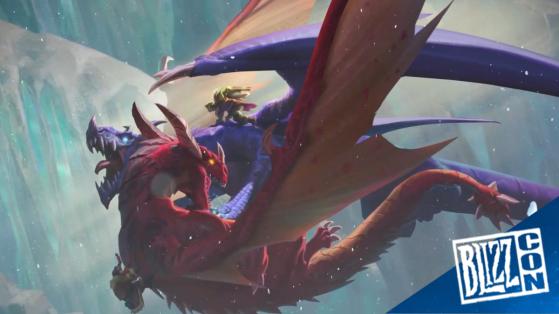 Hearthstone, extension Envol des Dragons nouveau mot-clé Conjurer (Invoke), Galakrond