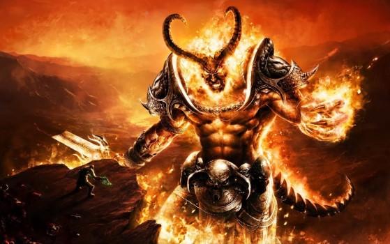 Sargeras face à Broxigar - World of Warcraft