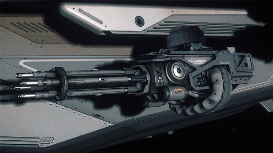 Star Citizen : Arme Scorpion GT-215