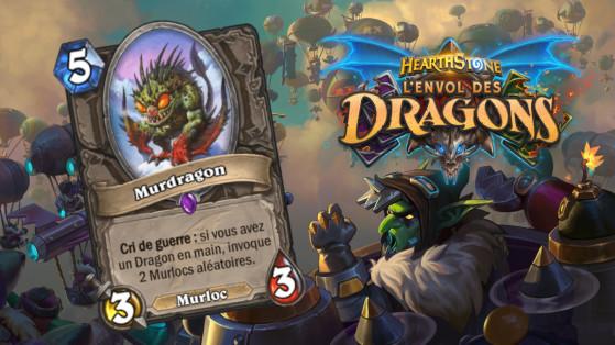 Hearthstone Envol des Dragons : nouveau serviteur épique neutre Murdragon