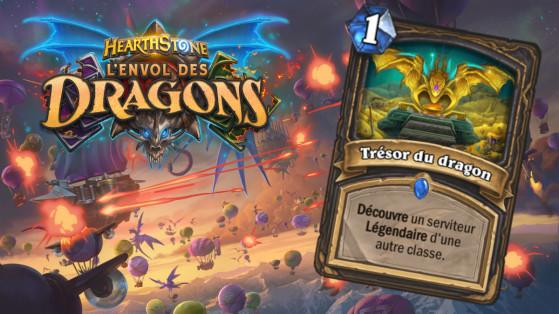 Hearthstone Envol des Dragons : nouveau sort rare Voleur Trésor du dragon