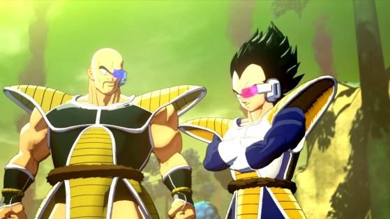 Soluce Dragon Ball Z Kakarot : Combat contre Nappa