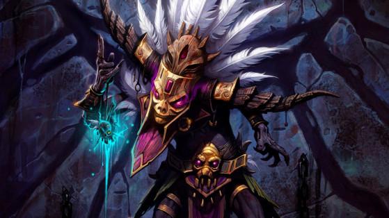 Diablo 3 : Build Féticheur Parure de Mundunugu Rafale d'esprit