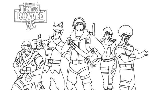Fortnite : les meilleurs coloriages et dessins
