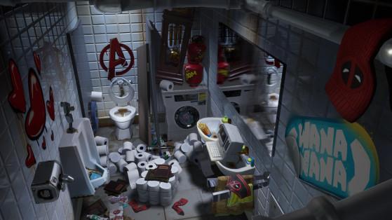 Fortnite saison 2 chapitre 2 : les défis de Deadpool