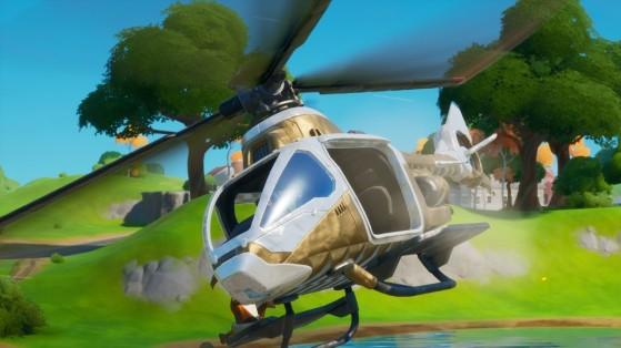 Fortnite : Hélicoptère choppa, où les trouver, trailer, nouveau véhicule saison 2