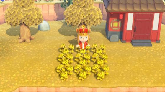 Animal Crossing New Horizons : roses dorées, comment les obtenir ?